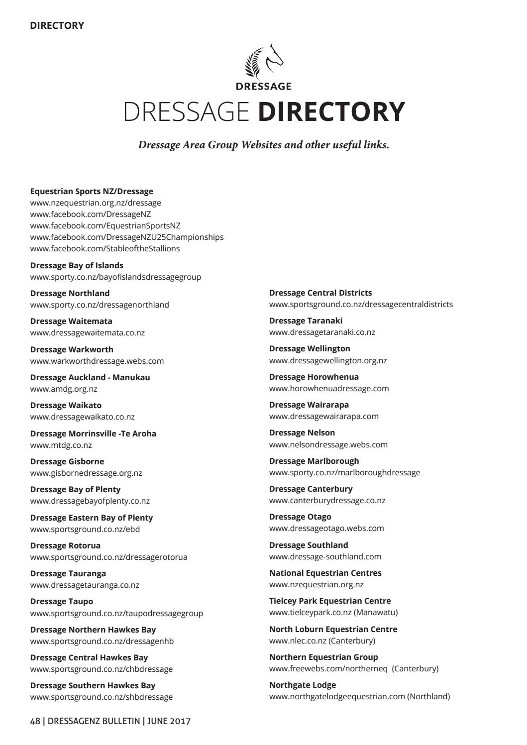 Dressagenz Bulletin By Dressagenz Bulletin Issuu