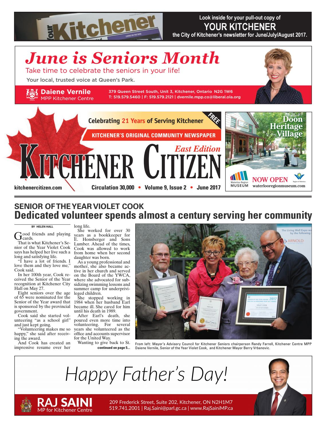 Kitchener Citizen - East Edition - June 2017 by Kitchener Citizen ...