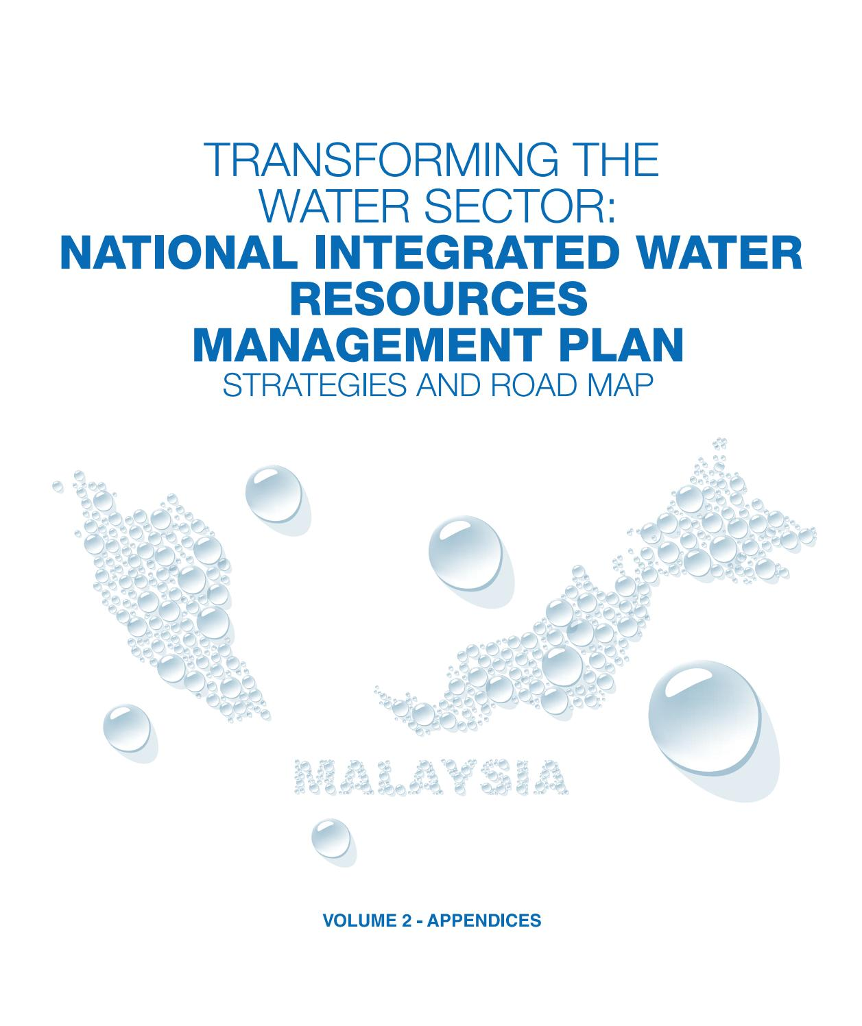 National Integrated Water Resources Management Plan