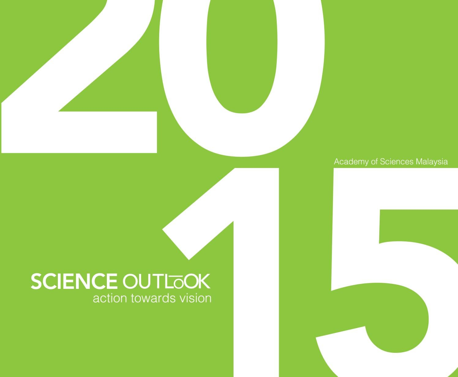 Science Outlook Report 2015 By Academy Of Sciences Malaysia Issuu Bike Tool 15 In 1 With Chain Cutter United Hijau