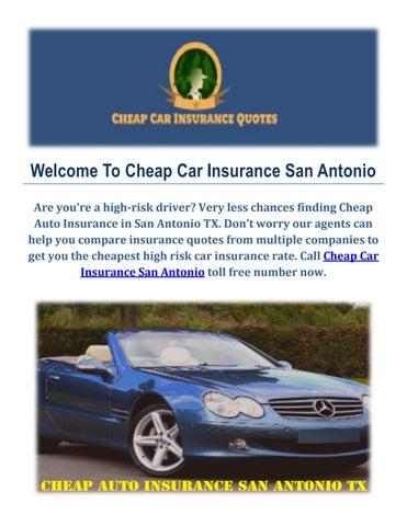 Get Cheap Auto Insurance In San Antonio By Cheap Car Insurance San