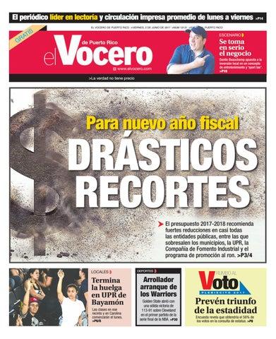 competitive price f411d 69b07 Edición 2 de Junio 2017 by El Vocero de Puerto Rico - issuu