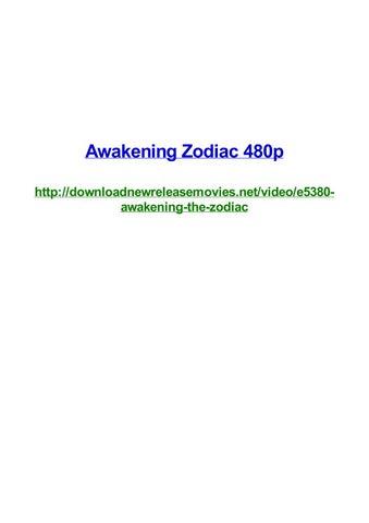Awakening Zodiac 480p By Frank Seamons Issuu