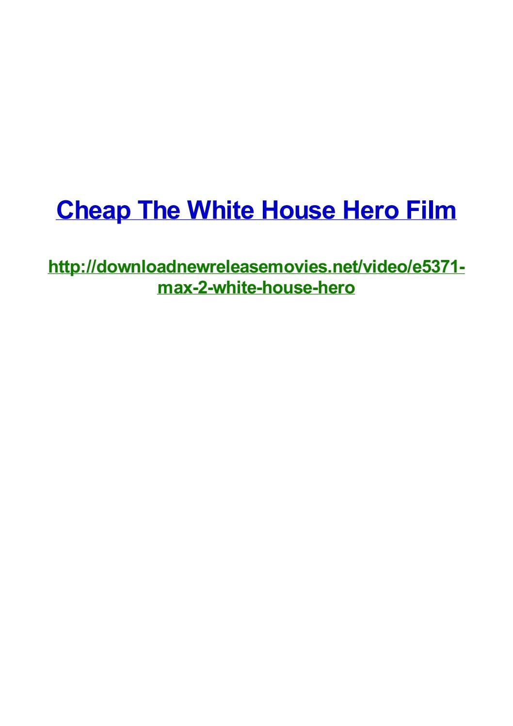 Cheap the white house hero film by Frank Seamons - issuu