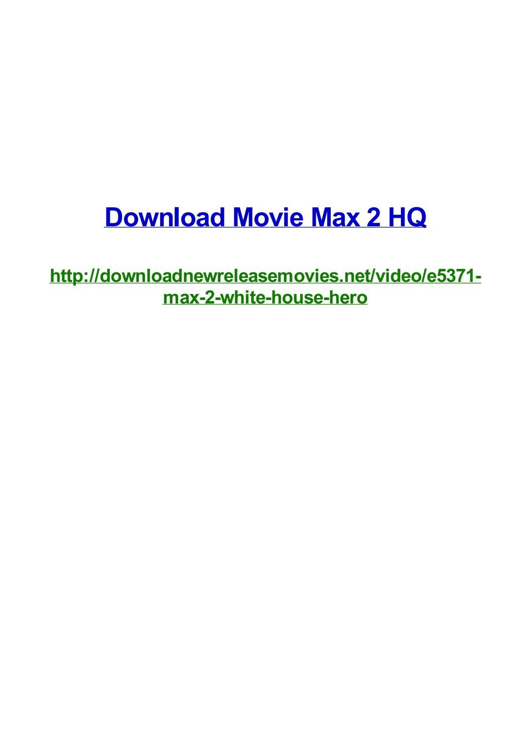 Download movie max 2 hq by Frank Seamons - issuu