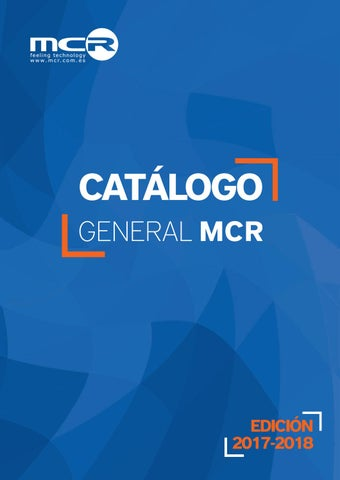 86c3d700b63 MCR Catálogo General 2017/2018 by MCR infoelectronic - issuu