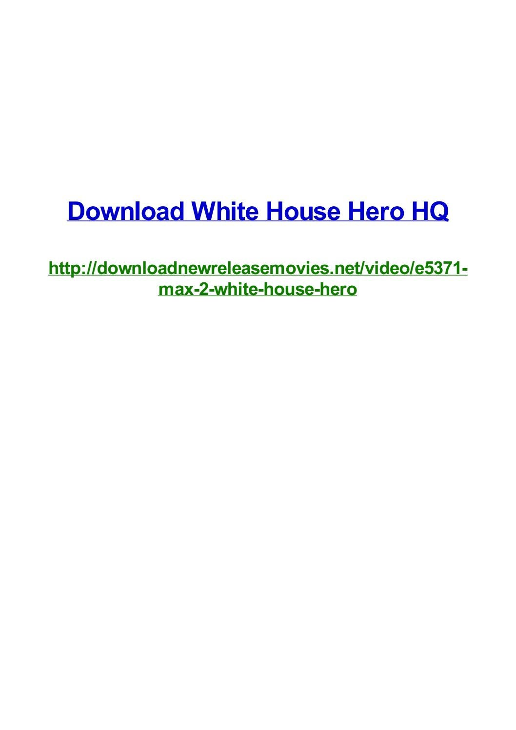 Download white house hero hq by Frank Seamons - issuu