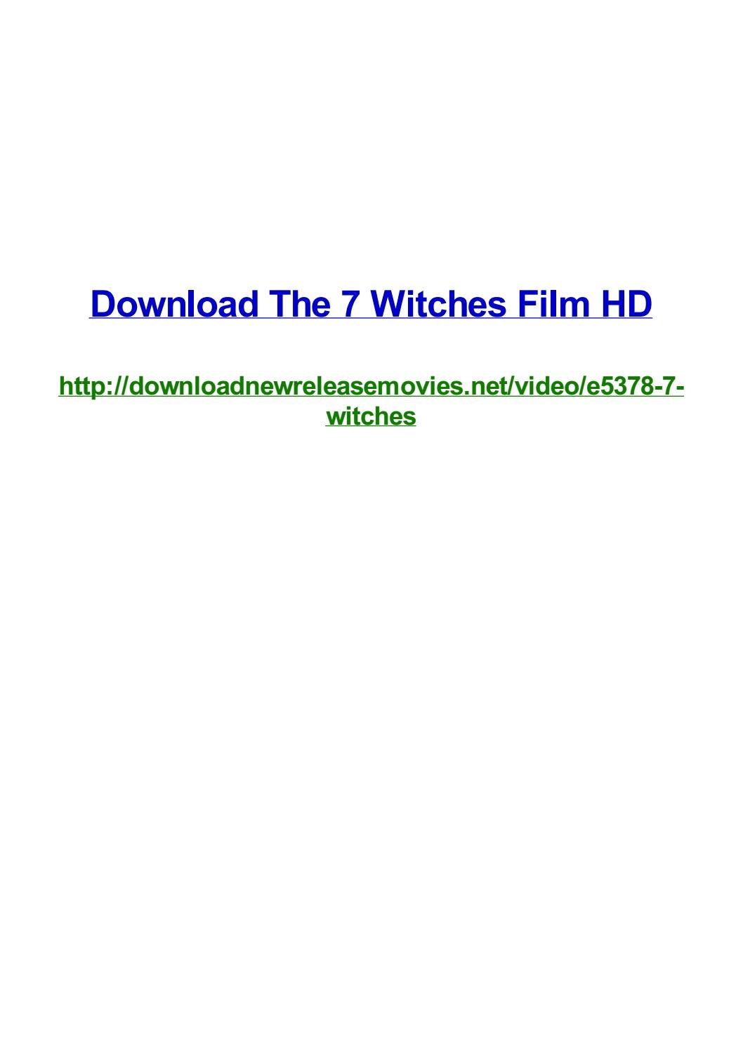 Download The 7 Witches Film Hd By Frank Seamons Issuu