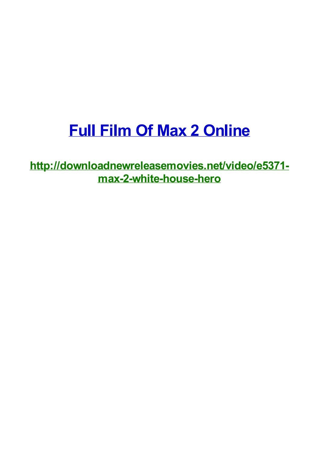 full film of max 2 online by frank seamons issuu issuu