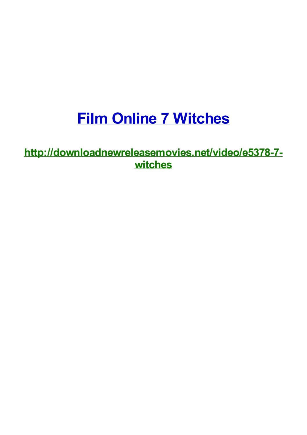 Film online 7 witches by Frank Seamons - issuu