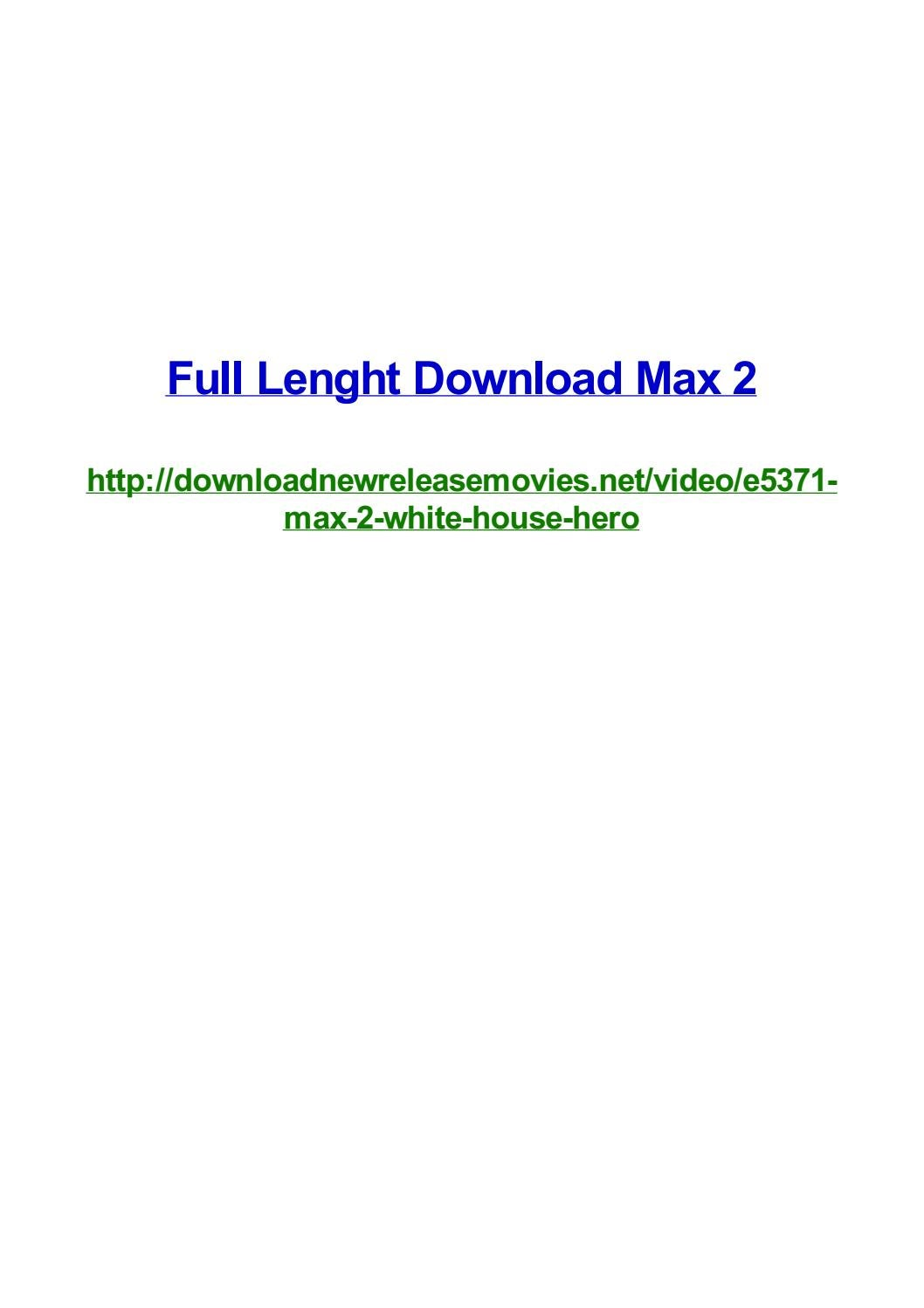 Full Lenght Download Max 2 By Frank Seamons Issuu
