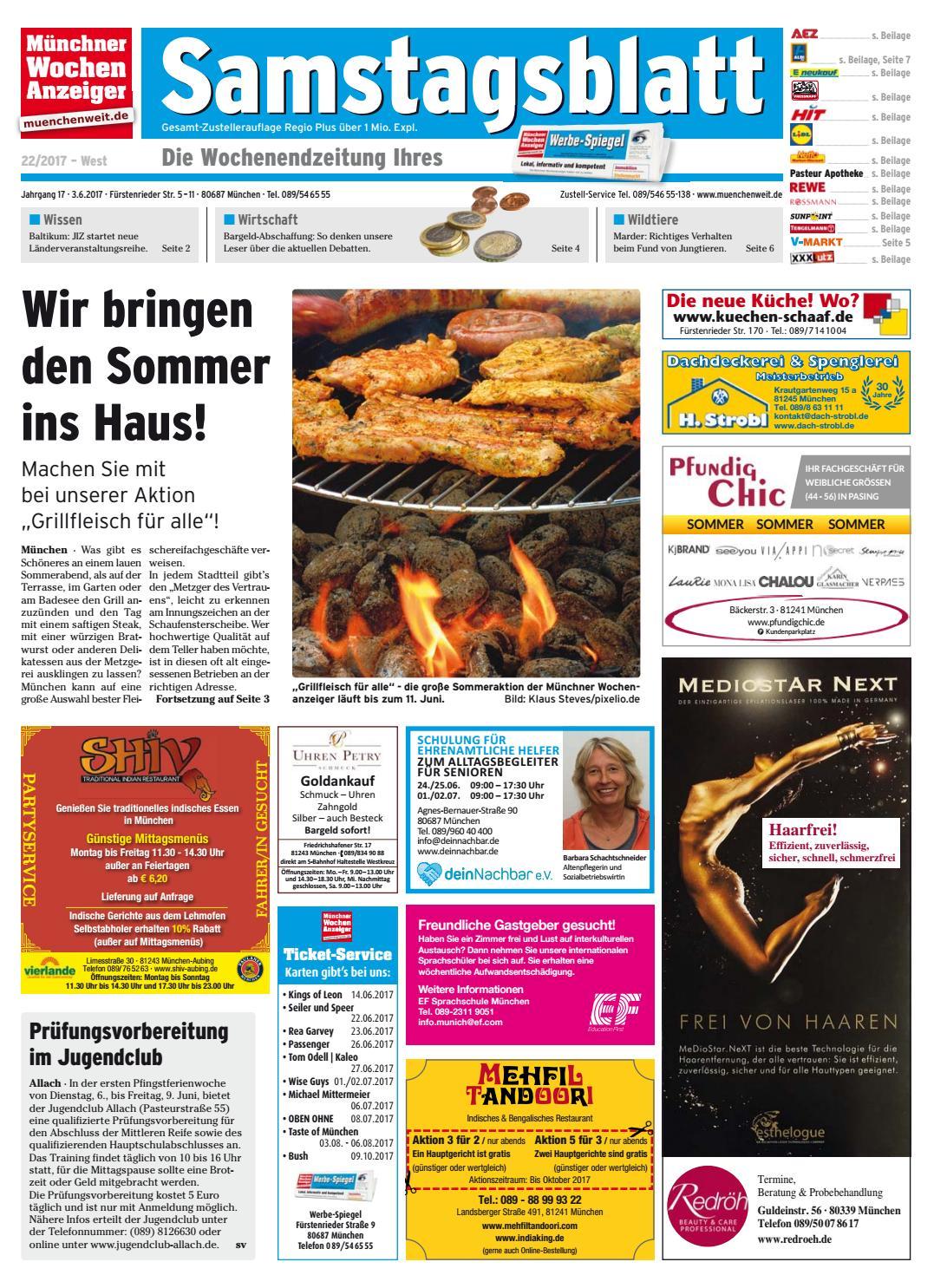 7b0fe6ec5eef24 KW 22-2017 by Wochenanzeiger Medien GmbH - issuu