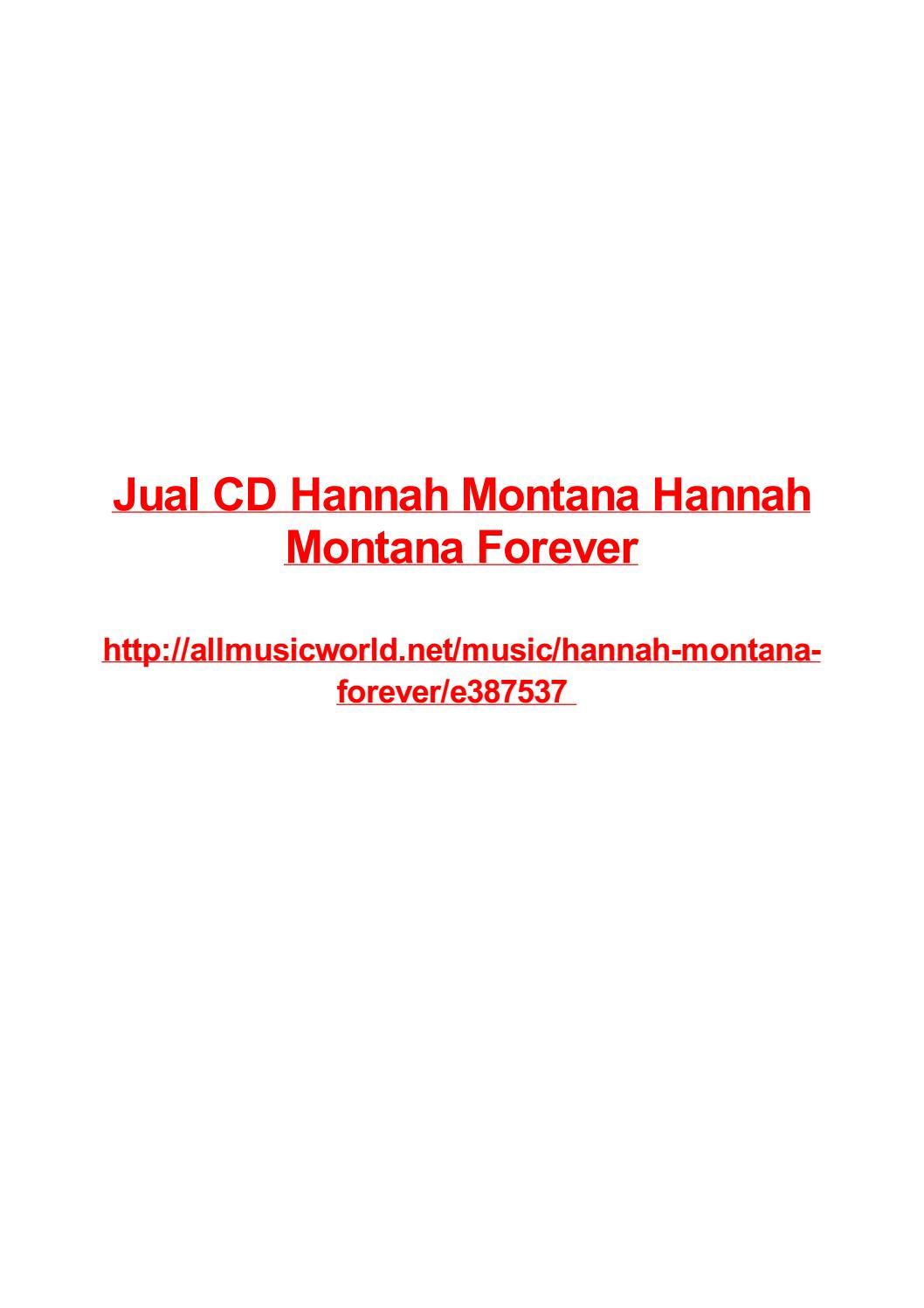 Jual cd hannah montana hannah montana forever by Frank Seamons - issuu