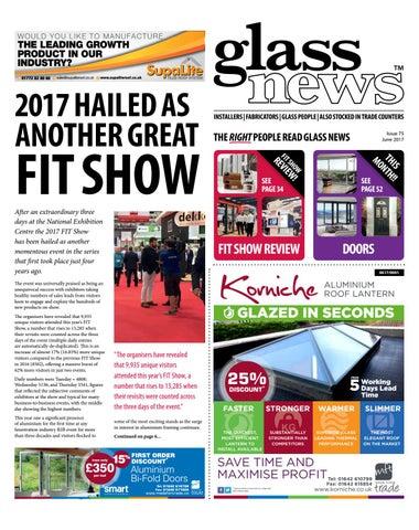 5b33232f36bb Glass News June 2017 by Christina Shaw - issuu