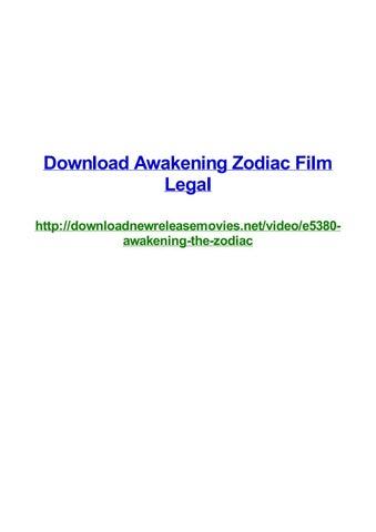 Download awakening zodiac film legal by Frank Seamons - issuu