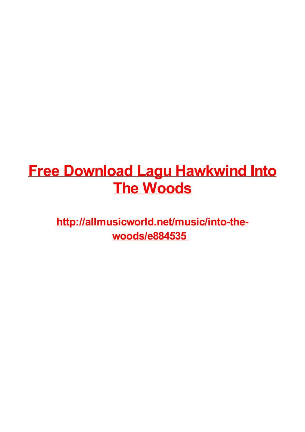 Free Download Lagu Hawkwind Into The Woods By Frank Seamons Issuu