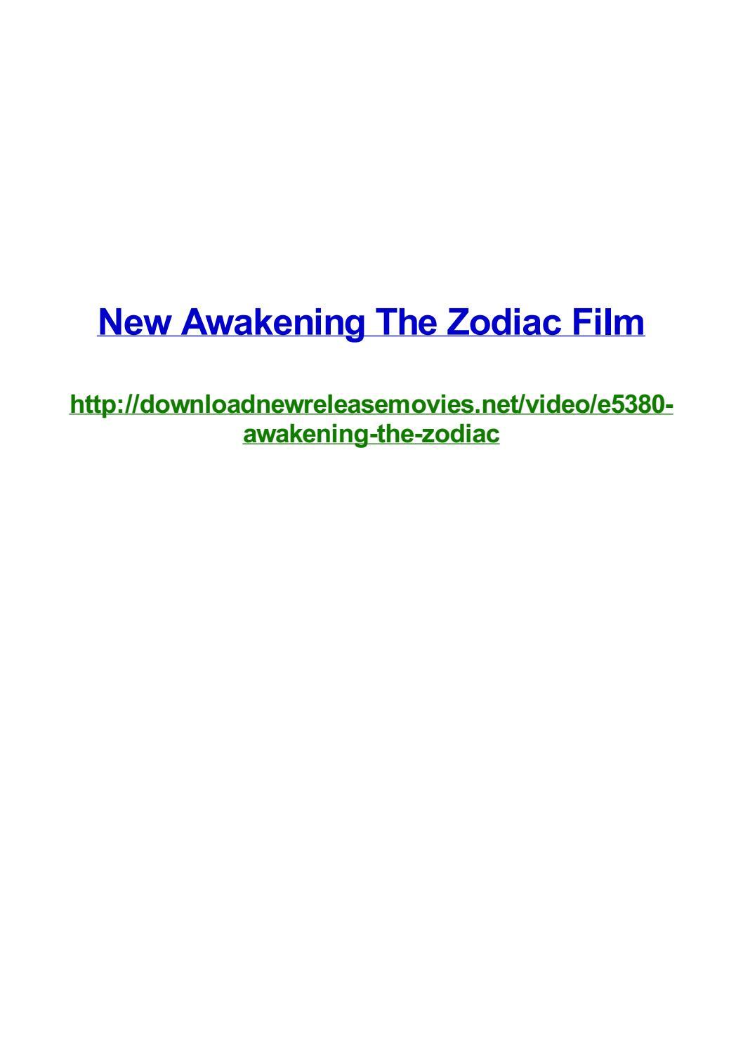 New Awakening The Zodiac Film By Frank Seamons Issuu