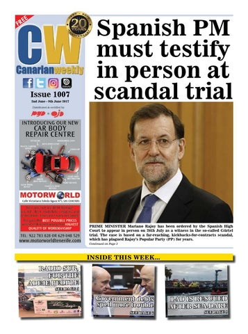Cw Issue 1007 By Canarian Weekly Issuu