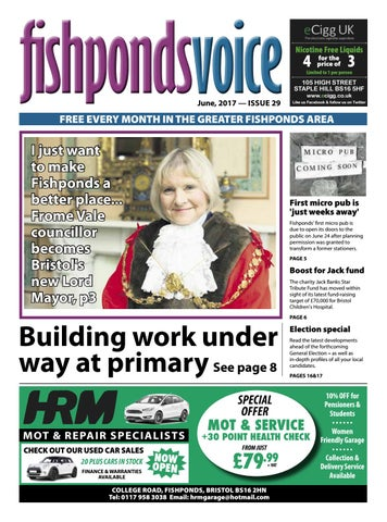 Fishponds Voice June 2017 By Fishponds Voice Issuu