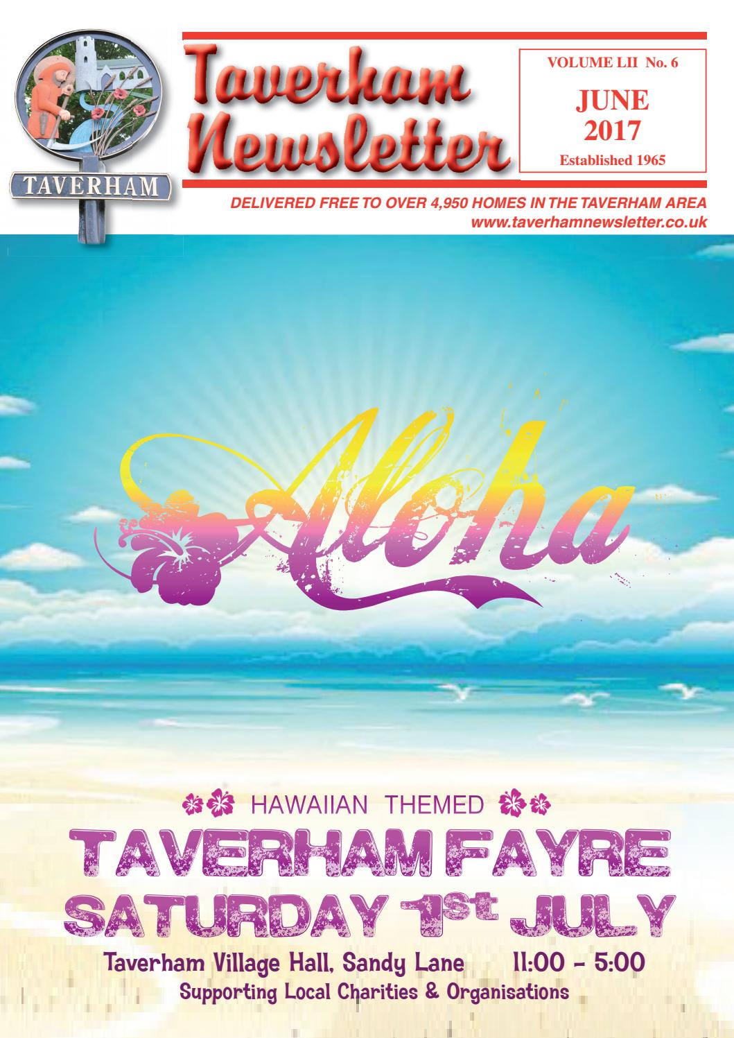 June 2017 By Taverham Newsletter Issuu