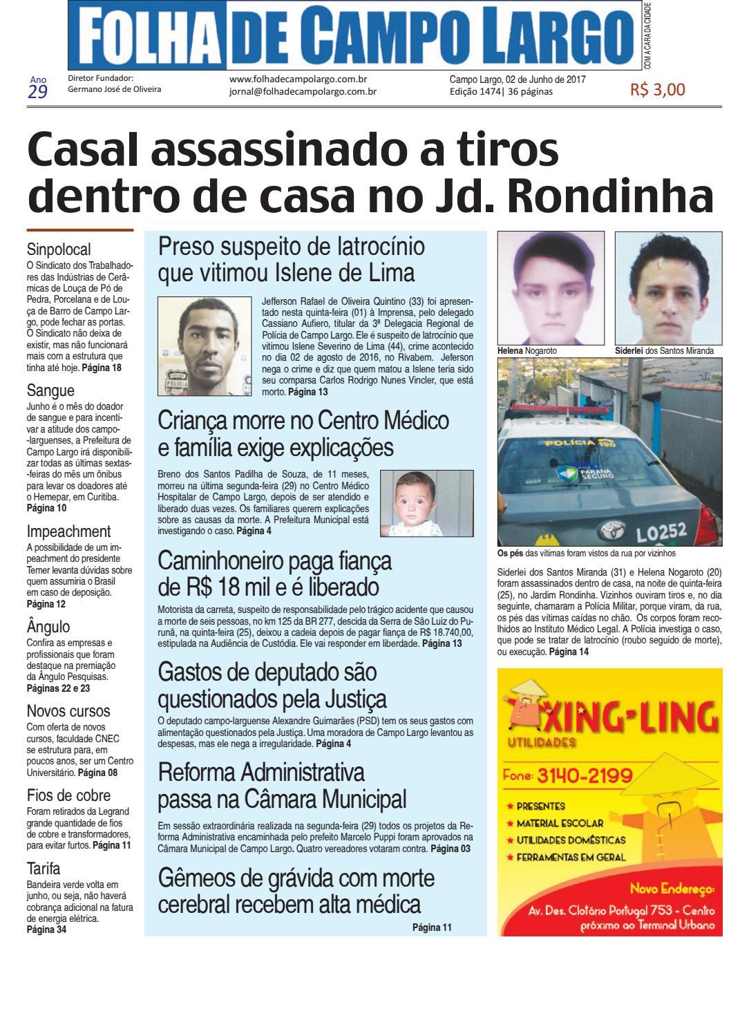 Folha de Campo Largo by Folha de Campo Largo - issuu e314ffe7a81af