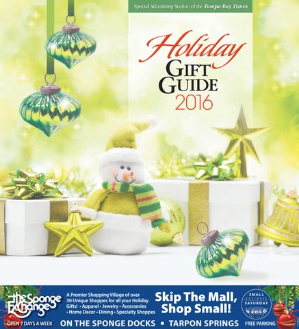 111924866d516 Holiday Gift Guide 2016 by Times Creative - issuu