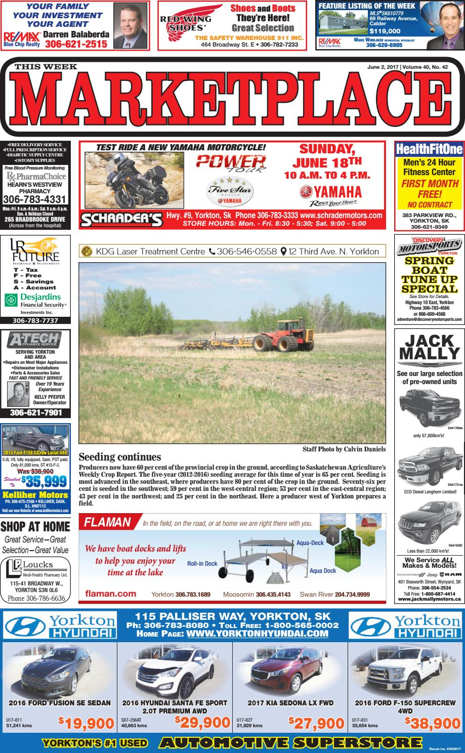 Marketplace - June 2, 2017 by Yorkton This Week - issuu