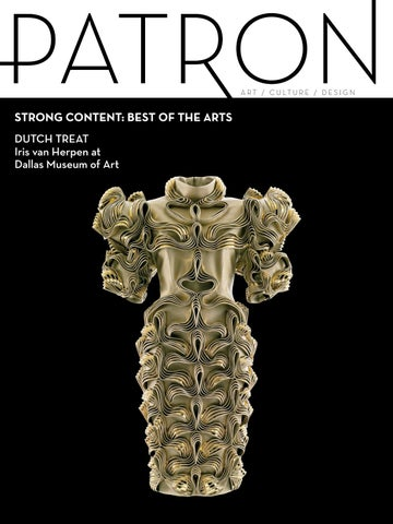 Patron Magazine Junejuly Issue Best Of The Arts By Patron Magazine