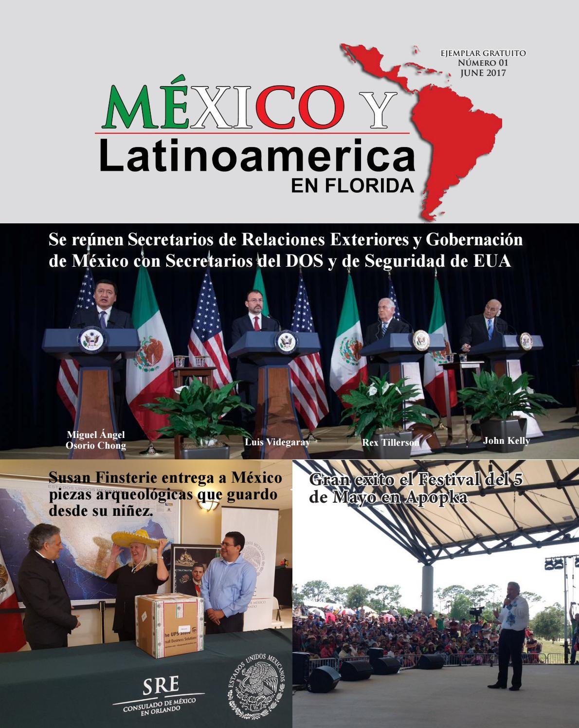 Mexico y Latinoamerica en Florida - Magazine Junio by El Osceola ...