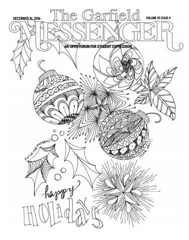 The Garfield Messenger Volume 95 Issue 4 By Garfield Messenger