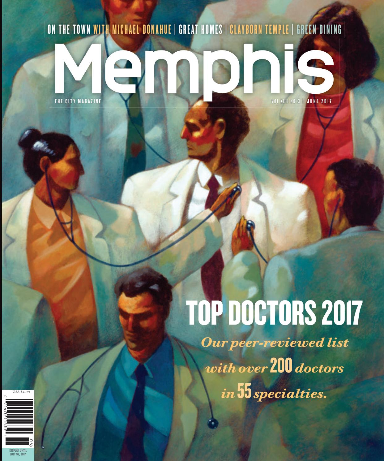 Memphis magazine June 2017 by Contemporary Media issuu