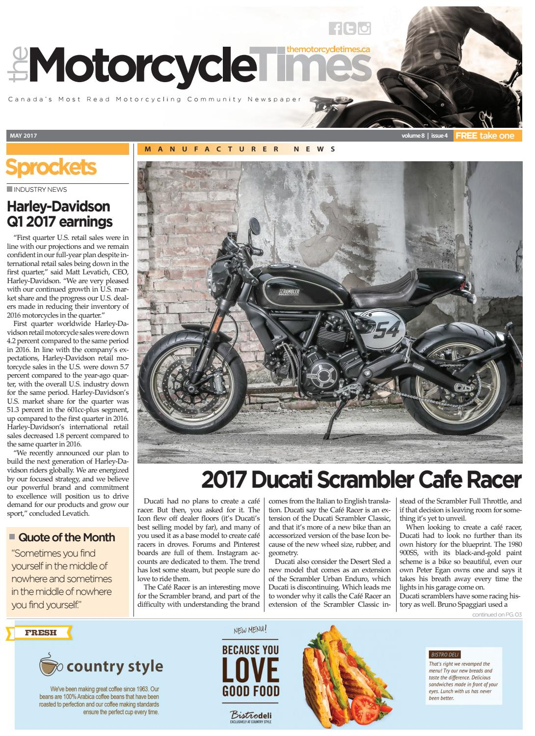 The Motorcycle Times - May 2017 by The Motorcycle Times - issuu
