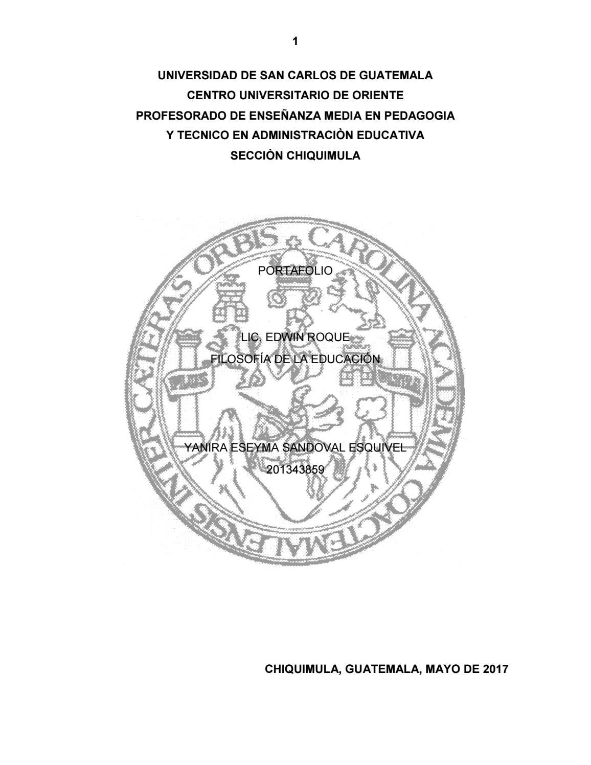 Portafolio del curso de filosofía yanira sandoval by YANIRA SANDOVAL ...
