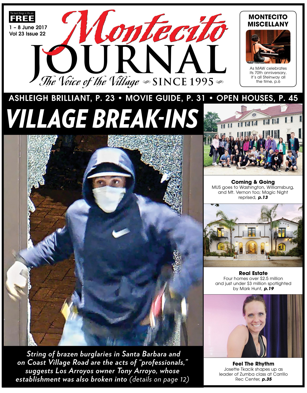 6ebf8bf8b270 Village Break-Ins by Montecito Journal - issuu