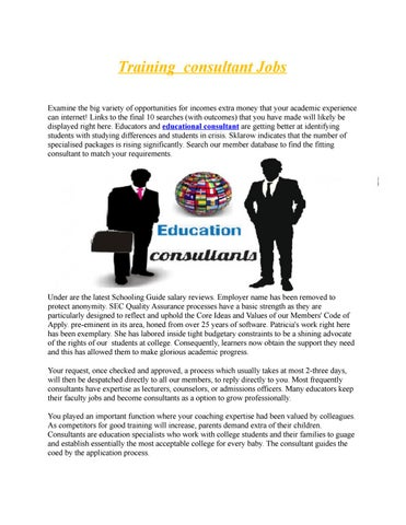 educational consultant by submissionn - issuu