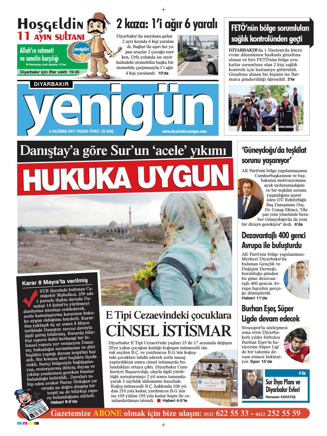 04 Haziran 2017 Pazar By Osman Ergun Issuu