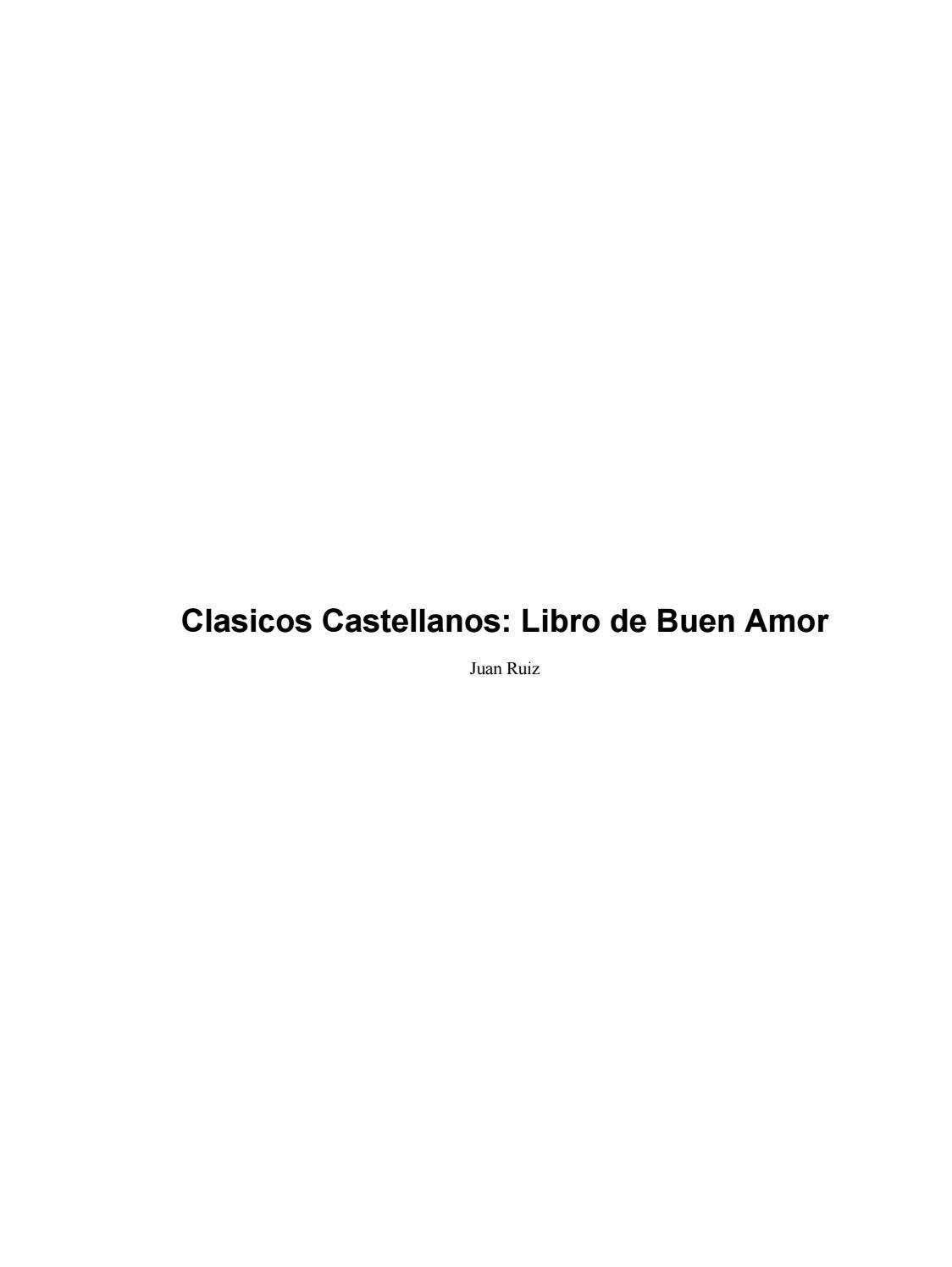 96ed1161ccad3 Libro del buen amor by SP - issuu