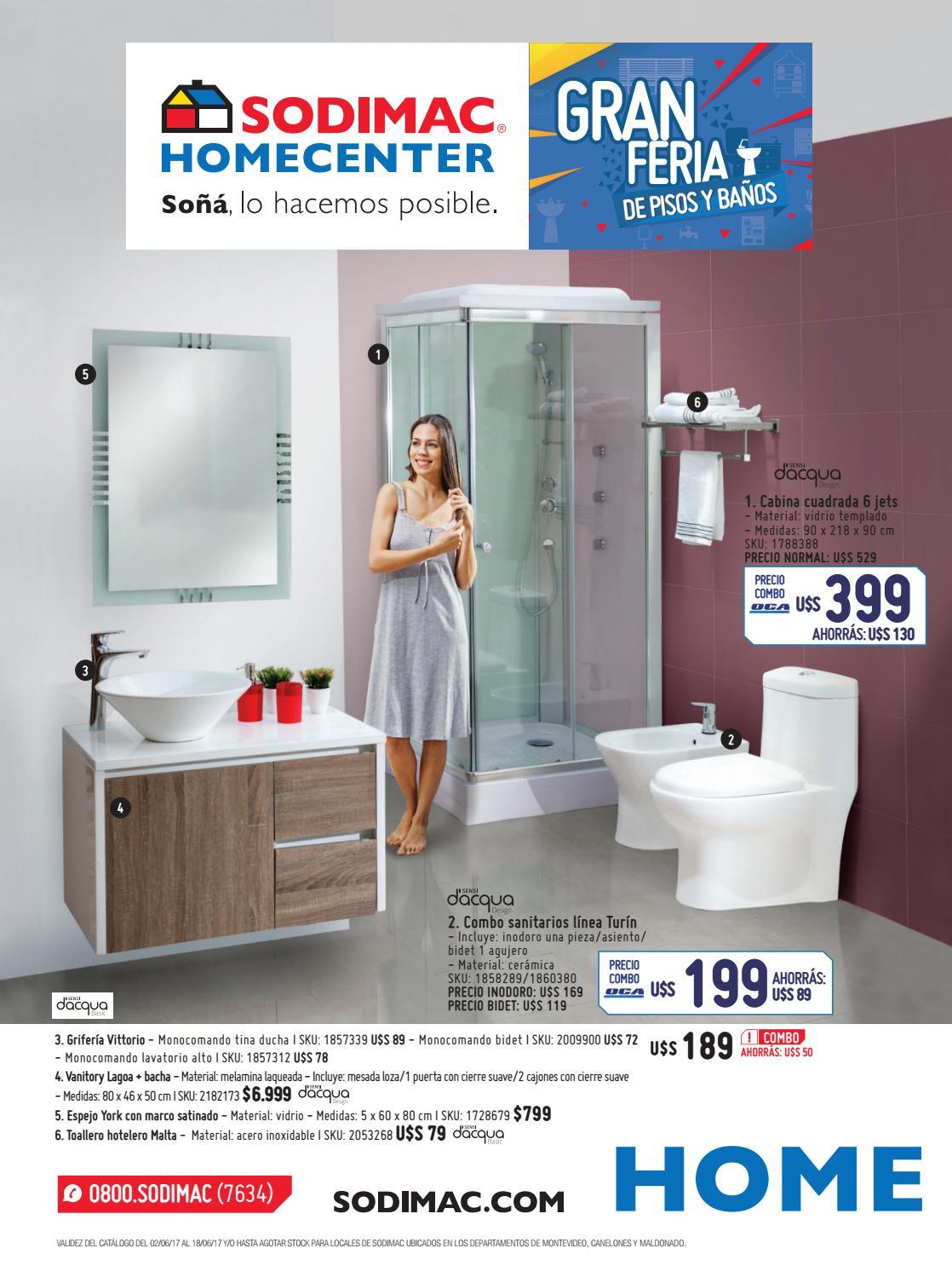 Catálogo Sodimac Homecenter UY | Junio 2017 by Sodimac - issuu