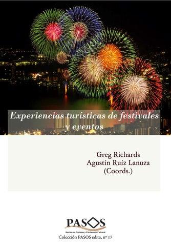 Experiencias Turísticas de festivales y eventos by PASOS Revista de ...