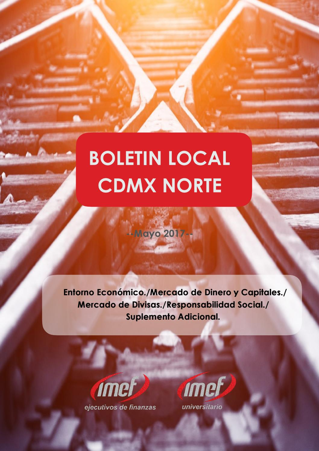 Boletín Local Ciudad México Norte - Junio 2017 by IMEF Universitario ...
