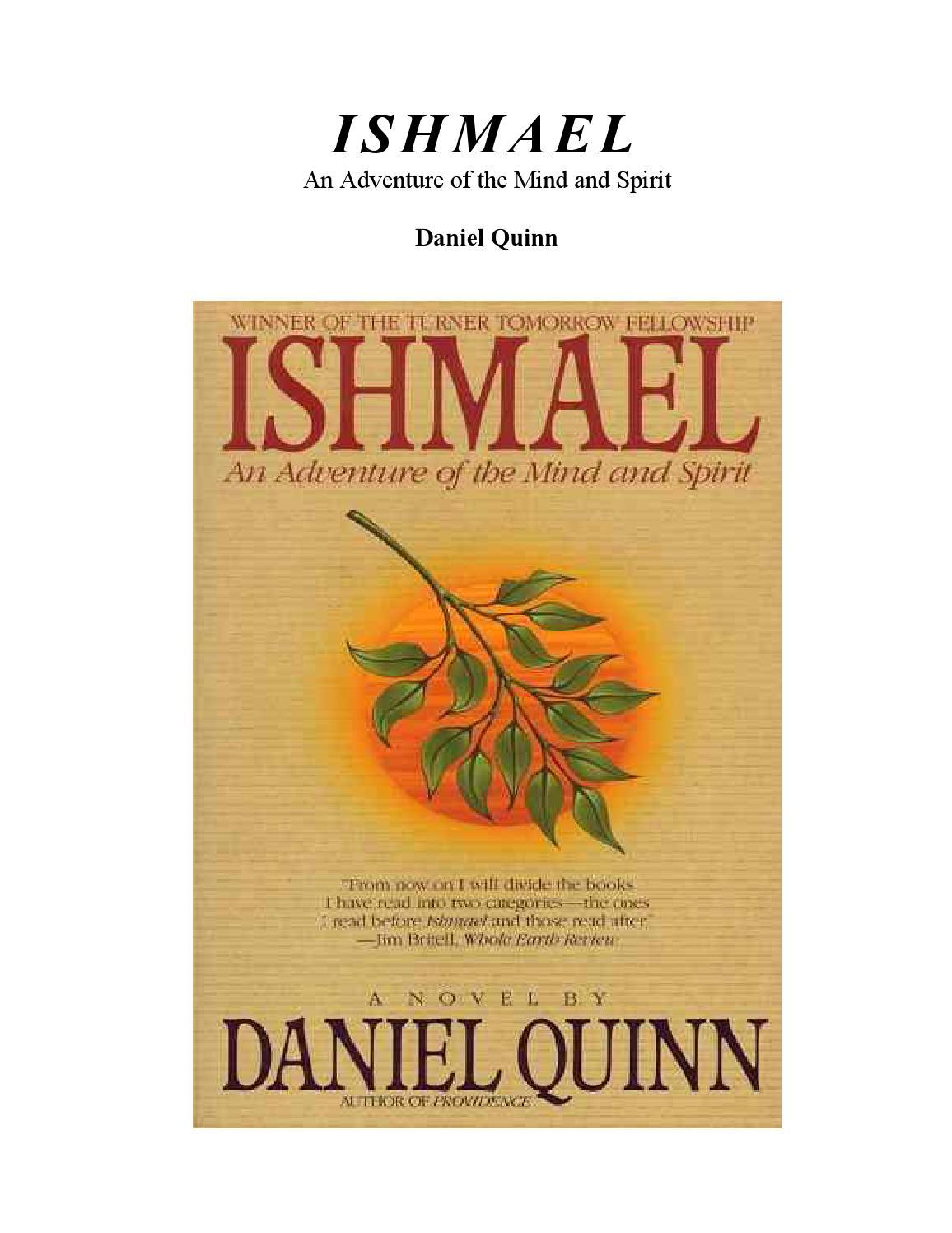 Read Ishmael By Daniel Quinn
