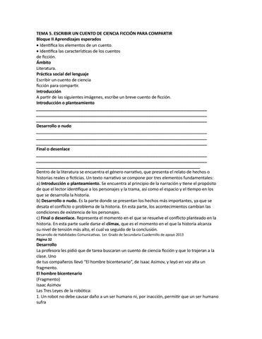 Cuento ciencia ficción by HIGINIO PALACIOS - issuu