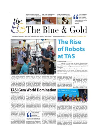 The Blue & Gold: Volume XXII, Issue 1