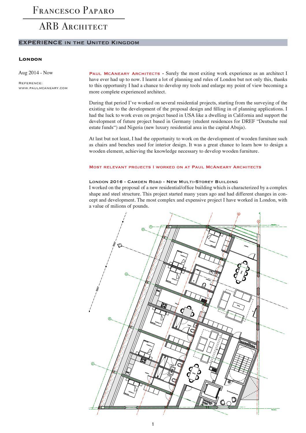 Portfolio works paul mcaneary architects london 2014 2017 by francesco paparo issuu