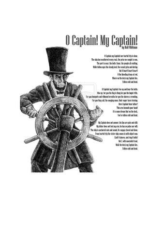oh captain my captain walt whitman analysis
