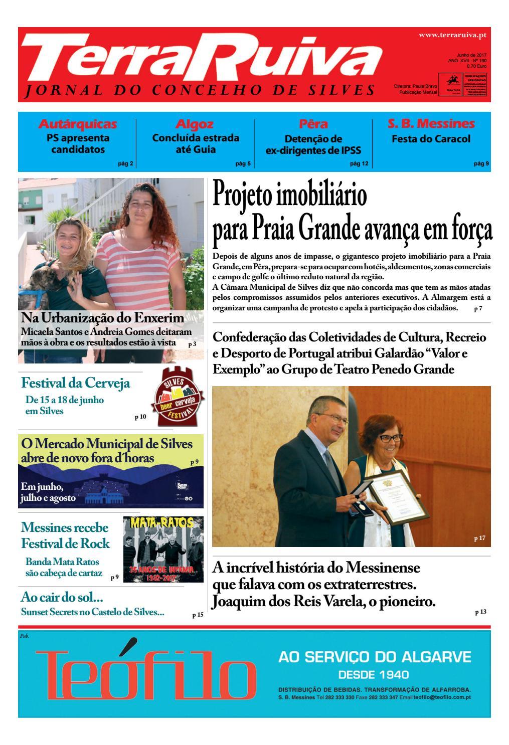 Jornal Terra Ruiva - Edição de Junho 2017 N. 190 by Bruno Cortes - issuu 79eda9cd7c