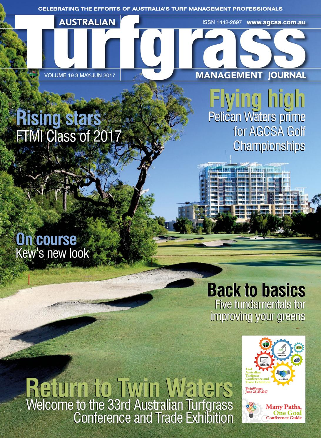 Australian Turfgrass Management Journal Volume 193 May June 2017 93 Plymouth Acclaim Wiring Diagram By Agcsa Issuu