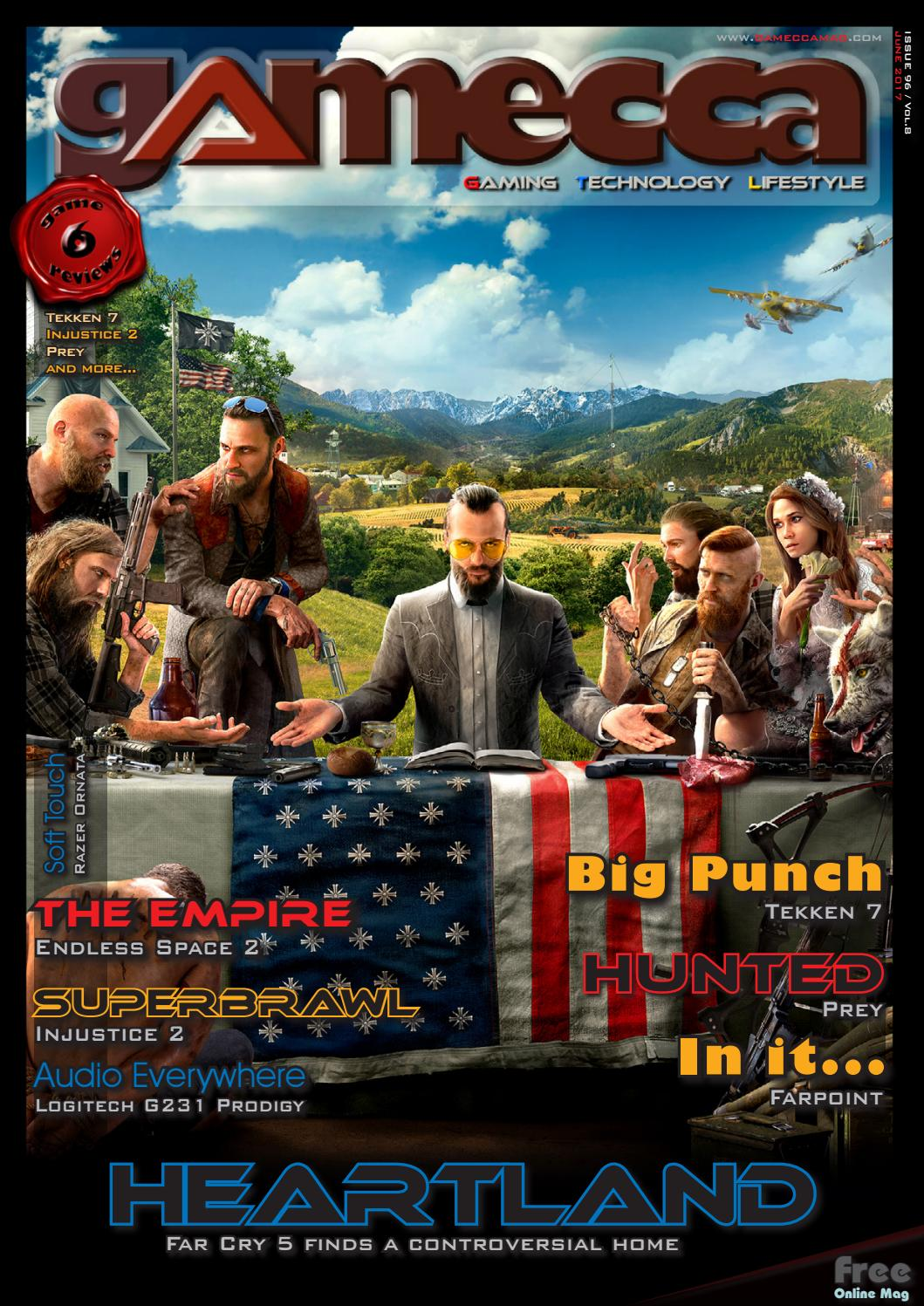 Gamecca Magazine June 2016 By Issuu Sony Playstation Ps4 Injustice 2 R3