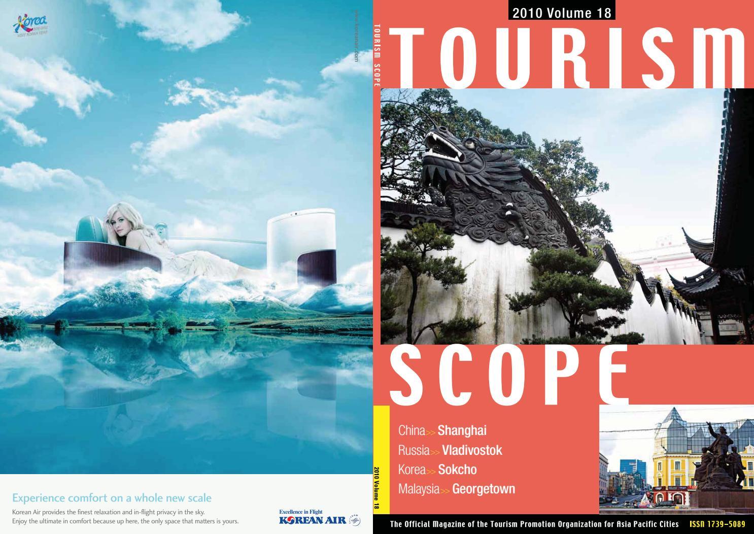 Tourism Scope Vol. 18_En by Tourism Scope - issuu