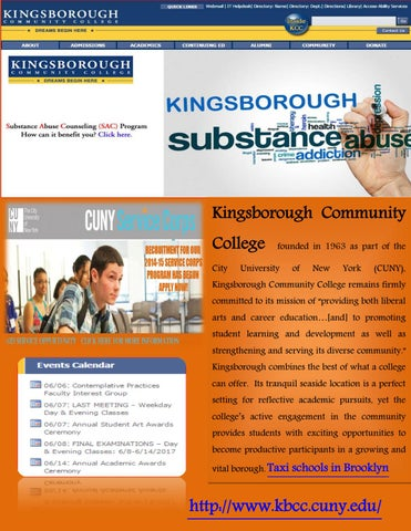 Map Of Kingsborough Community College By Cuny Kingsborough Issuu